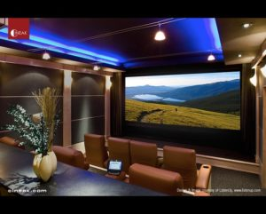 Home theater installation image