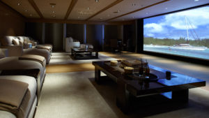 Home theater installation living room image