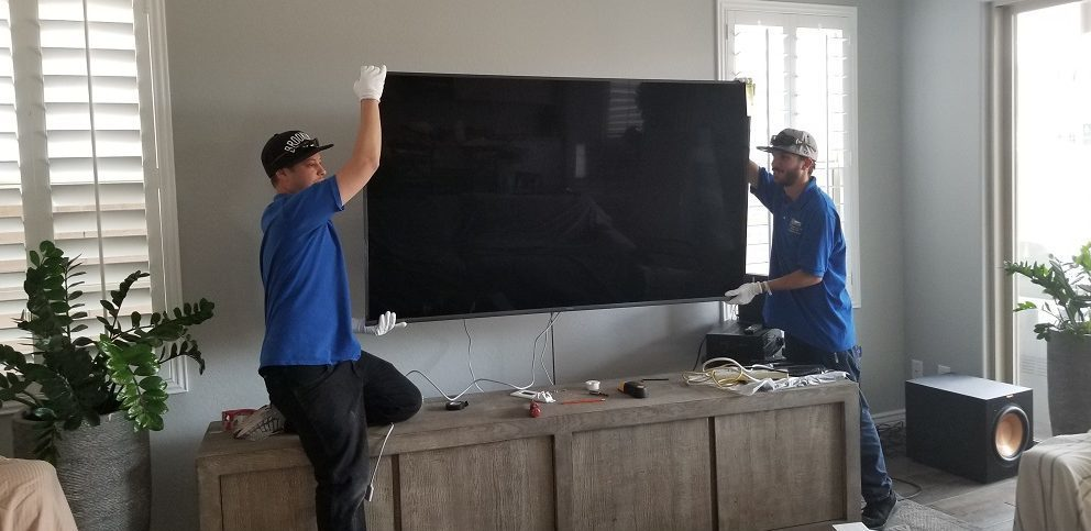 TV Mounting and Home Theater Installation Phoenix - SG installations AZ